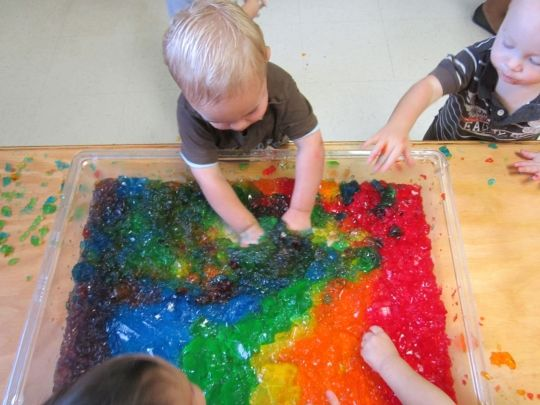 Little Eagles Nursery School - Sensory Play
